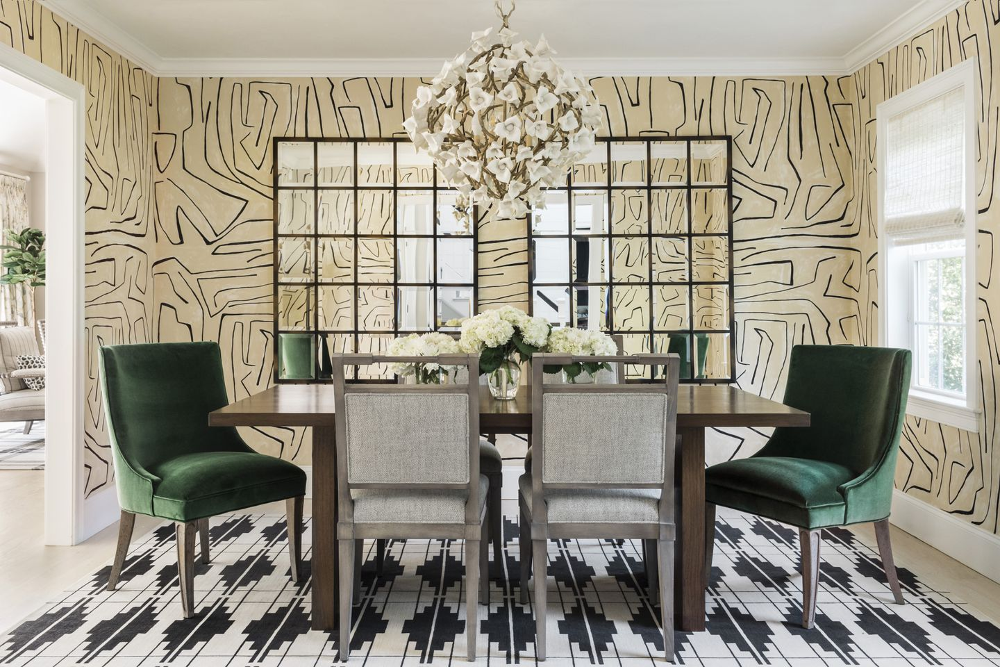 Style Inspiration How To Make A Bold Splash Of Wallpaper Work In Your Room The Boston Globe