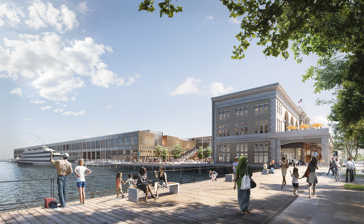Fidelity Would Create Large Waterfront Space At Revamped