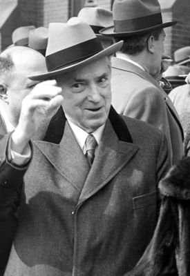 Former Boston mayor James Michael Curley.