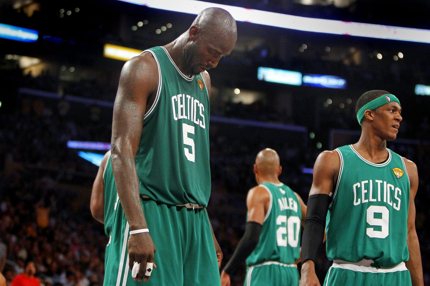 8d85a2f79ab5 Celtics flop with chance for title  Lakers force Game 7 - The Boston ...
