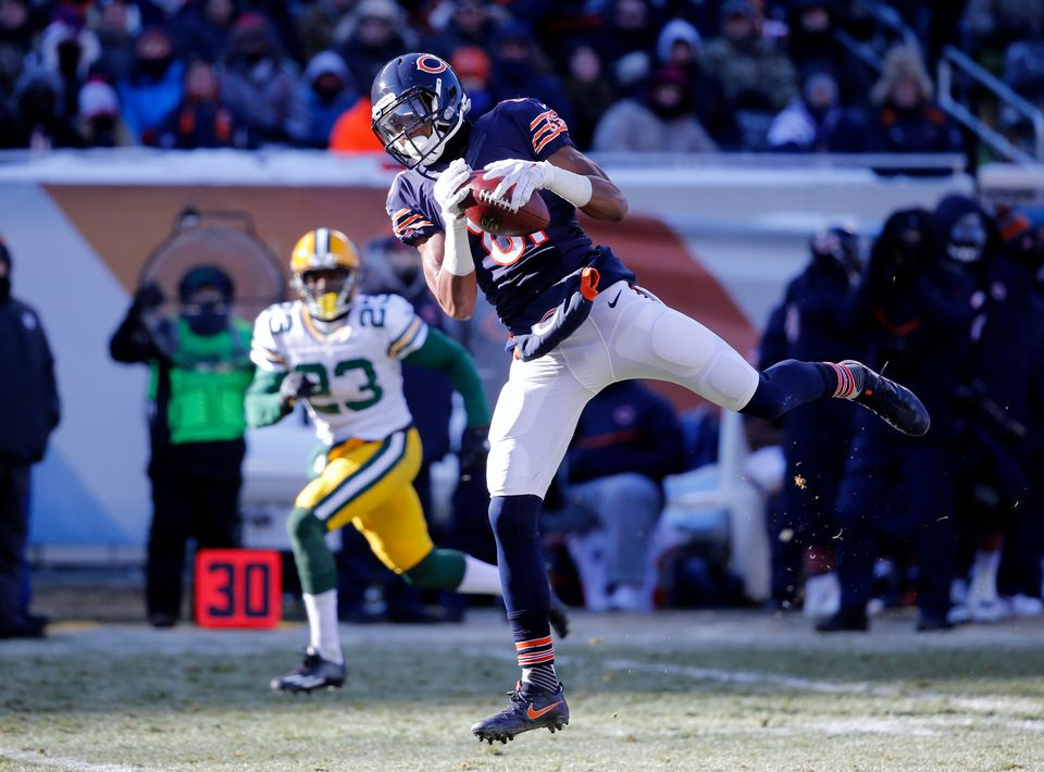 Cameron Meredith caught 77 passes for 1,008 yards and four touchdowns in his first two NFL seasons.