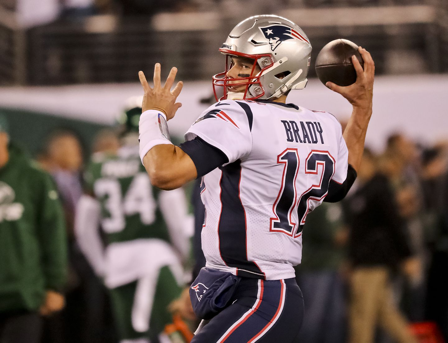 Man arrested in theft of Brady jersey allegedly was caught wearing ...