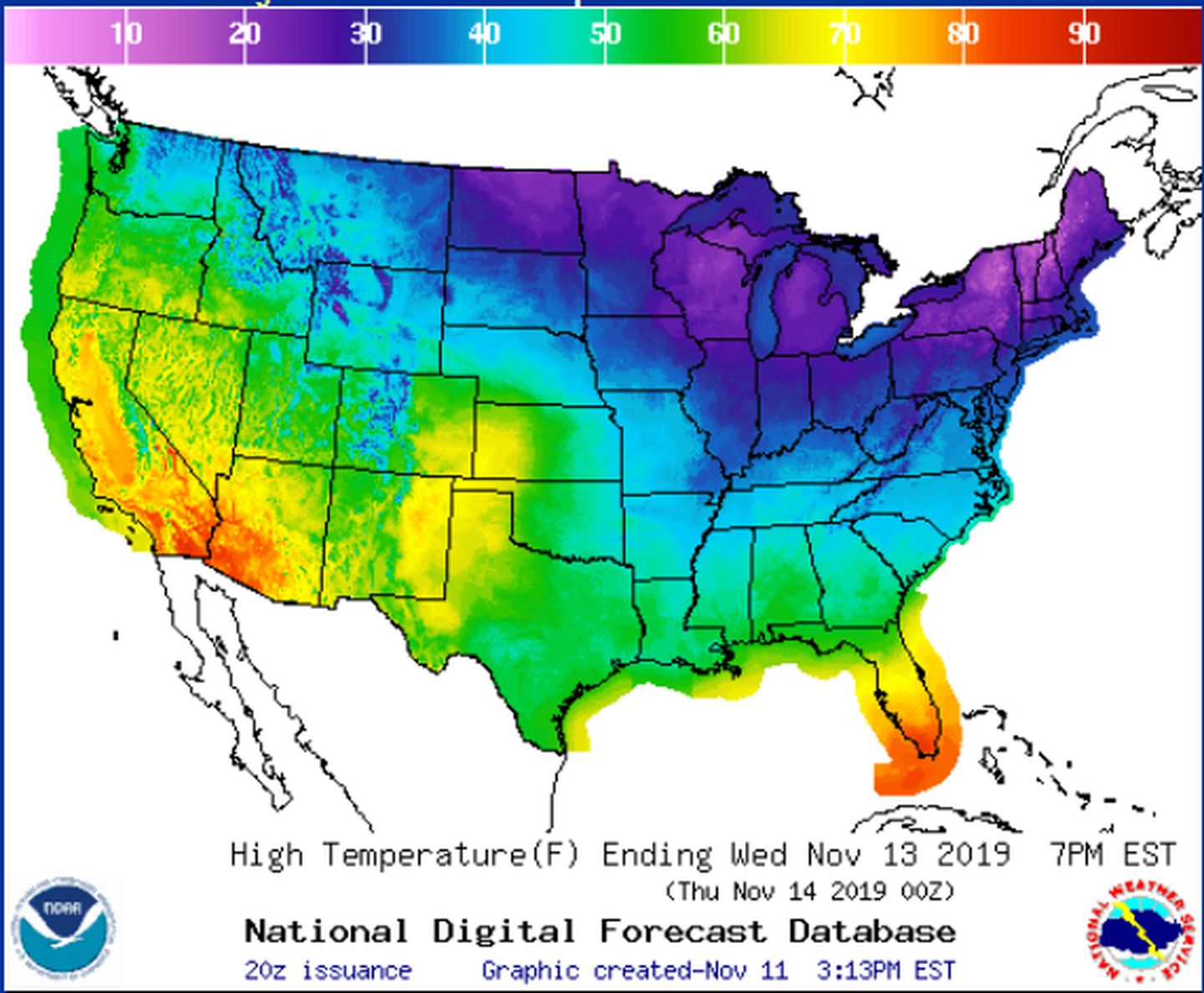 Maps: When and where to expect snow and record cold this ...