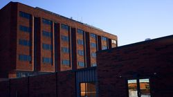 Eleanor Slater Hospital in Cranston, R.I, on Feb. 21, 2021.