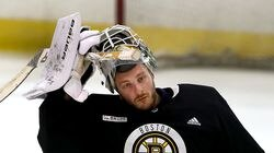 Linus Ullmark will step into net for the Bruins.