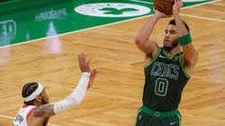 Jayson Tatum had two 50-point games in the regular season last year. We could see more of that.