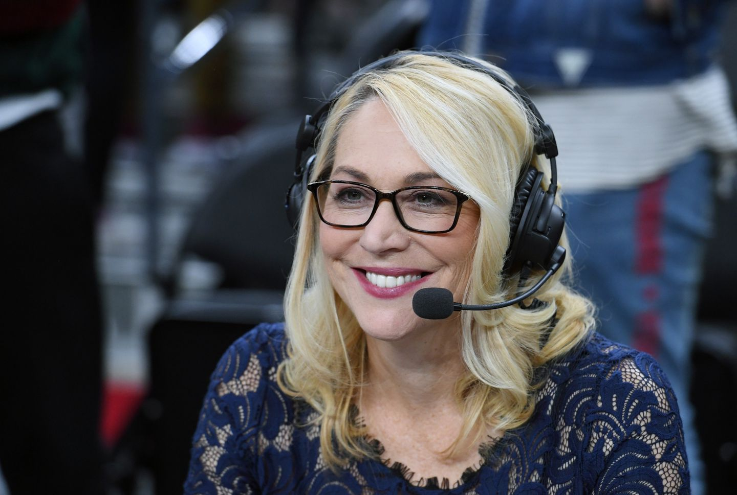 While Doris Burke Told The World Of The Nba Stoppage She Was