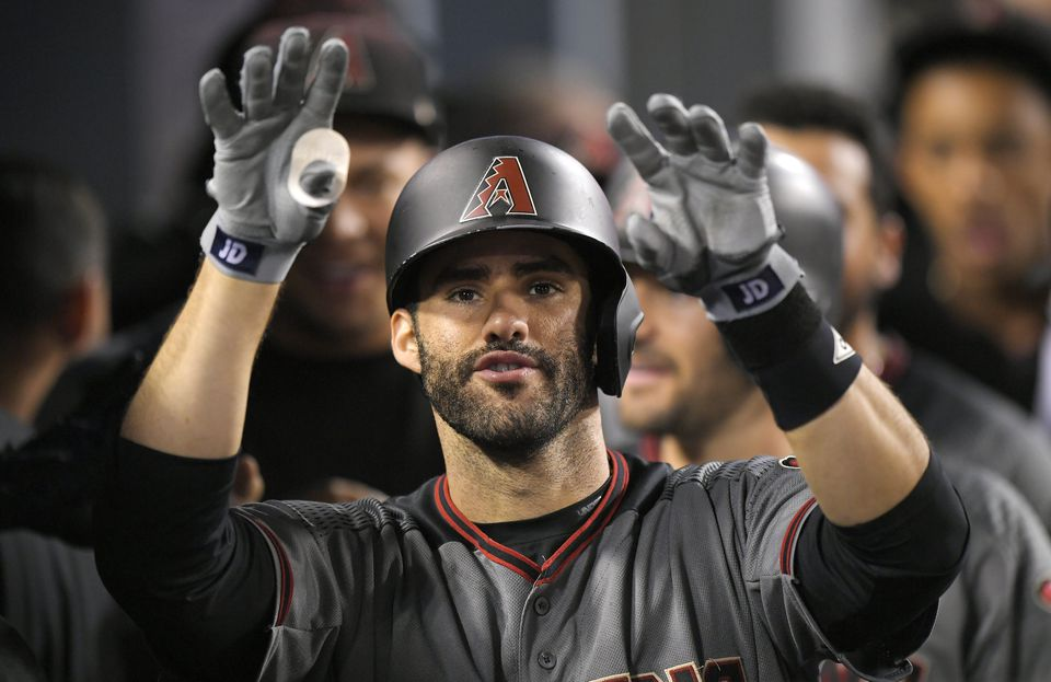 The Diamondbacks may not be able to afford free agent outfielder J.D. Martinez.
