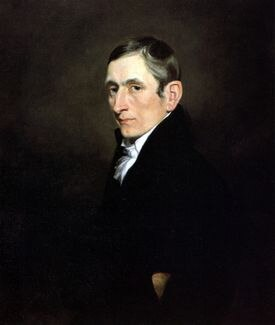 A portrait of Jeremiah Evarts by Samuel Finley Breese Morse.
