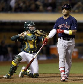 Yoan Moncada struck out six times in his first 14 plate appearances in the big leagues.