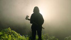 """Reece Shearsmith in """"In the Earth."""""""