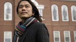 Eng-Beng Lim, a professor at Dartmouth College, stands for a photograph on the school's campus, Tuesday, April 20, 2021, in Hanover, N.H.