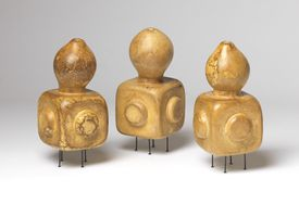 """Andrew Mowbray's gourds in """"Another Utopia."""""""