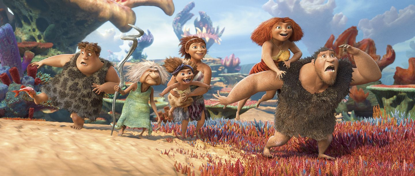 The Croods Explores The Modern Stone Age Family The Boston Globe