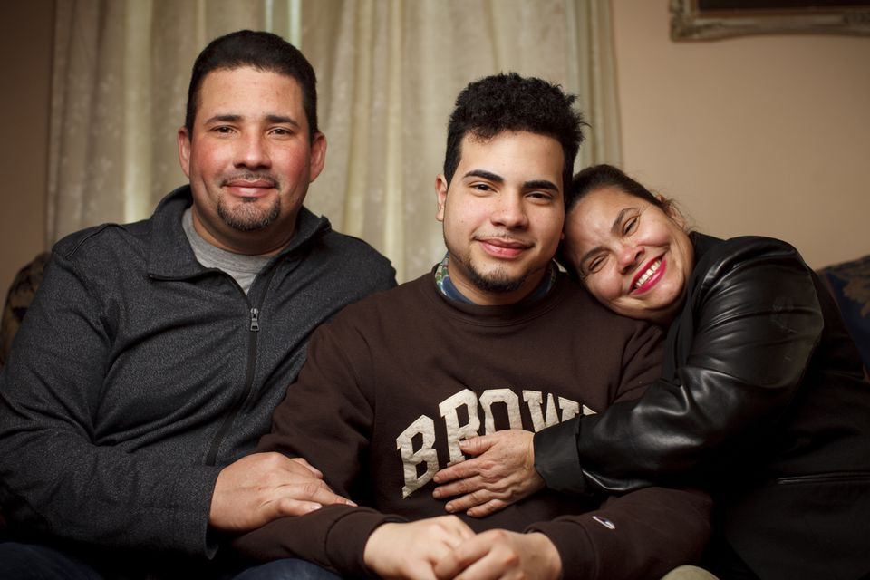 Brown is just a 15-minute ride from the apartment in Providence's West End where Alejandro Claudio's parents, Alejandro and Maribel Claudio, live.