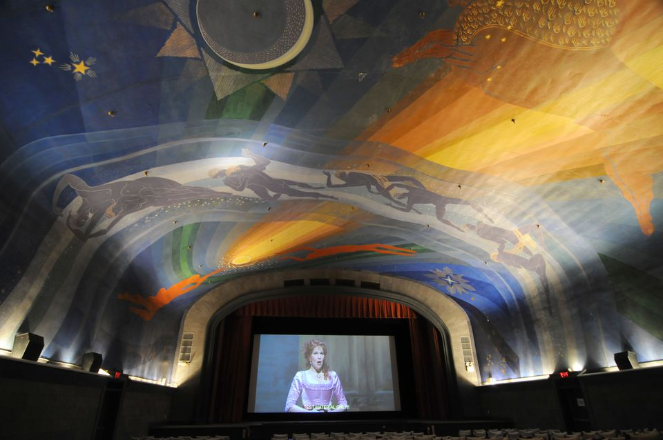 The Cape Cinema.