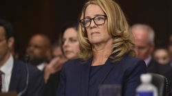 Christine Blasey Ford testified before the Senate Judiciary Committee on Capitol Hill in  2018.