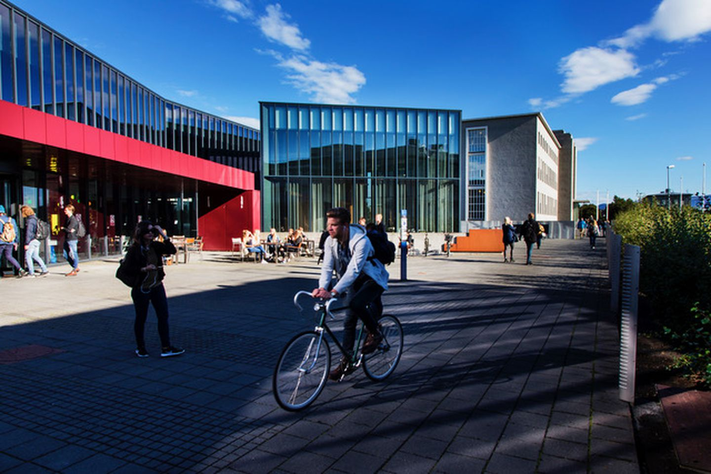 The campus at the University of Iceland.