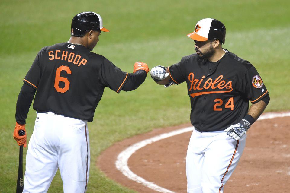 Pedro Alvarez (right) hit .249 last season.