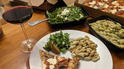 Takeout from Ciao! Pizza and Pasta in Chelsea.