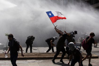 Image result for chile protest