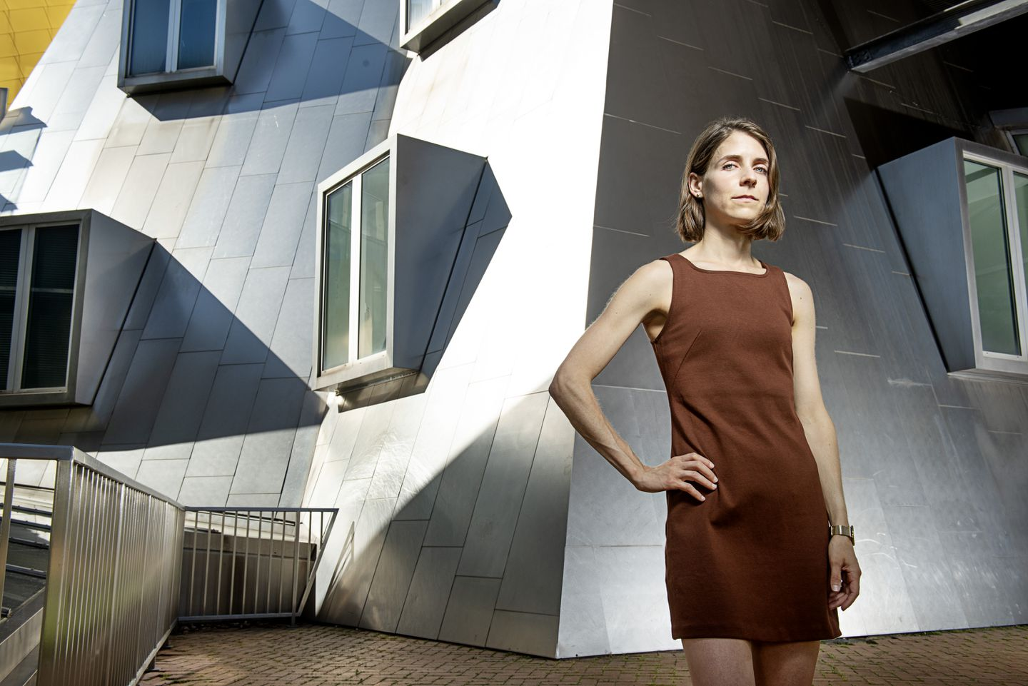 Mathematician Lisa Piccirillo at MIT, where she is now an assistant professor.