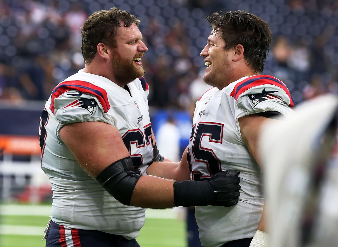 Patriots had a lot of issues against the Texans, but patchwork offensive  line was not one of them - The Boston Globe