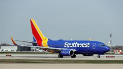 A Southwest Airlines plane taxis to the gate after landing at Midway International Airport in Chicago last month.
