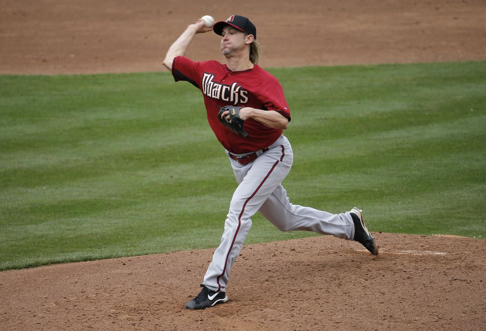 Bronson Arroyo last pitched in 2014 for Arizona.