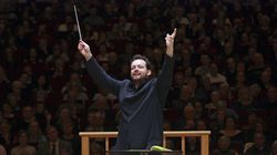 Andris Nelsons conducted the Boston Symphony Orchestra at Carnegie Hall in 2017.