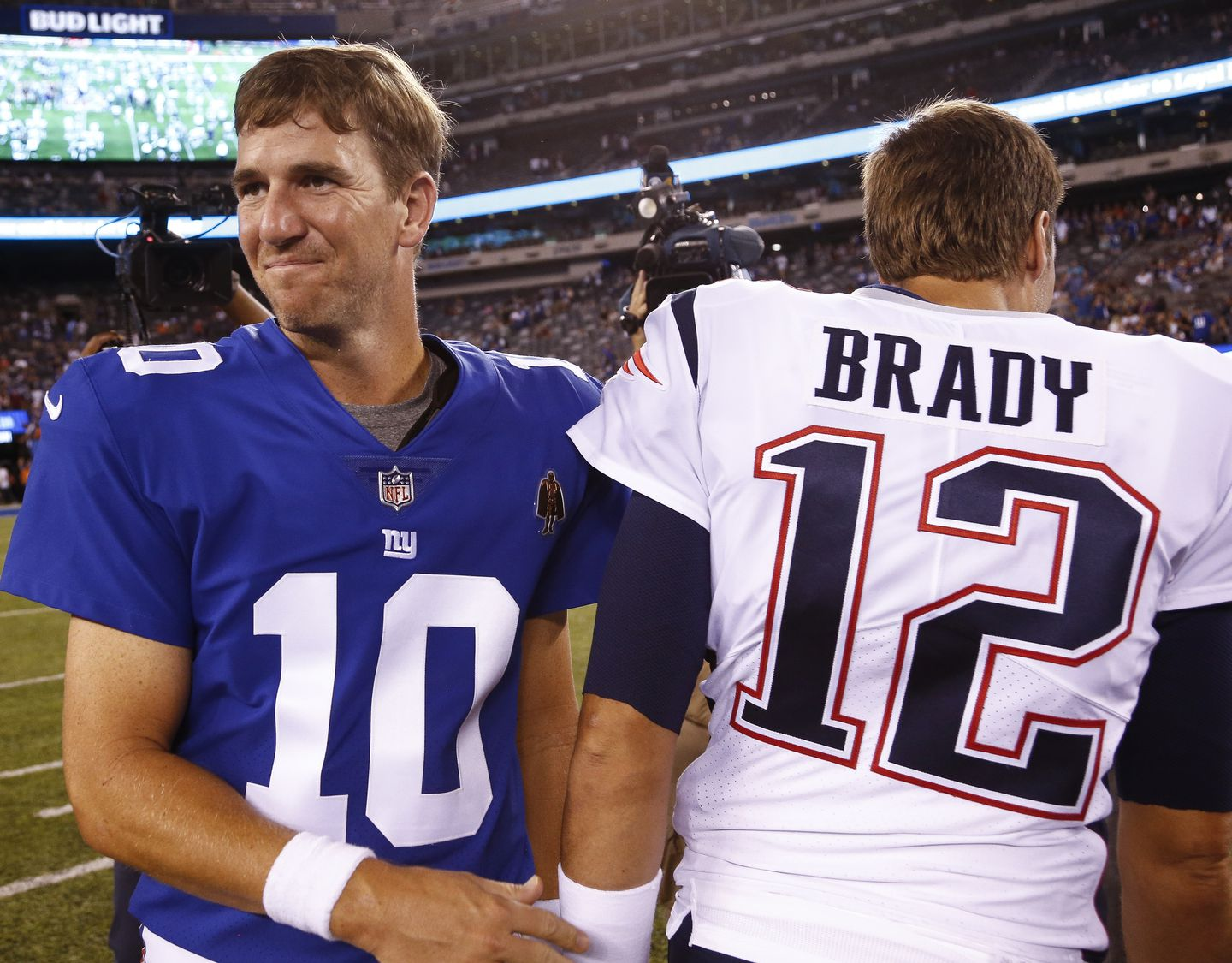 While Tom Brady Keeps On Chugging Eli Manning Could Be