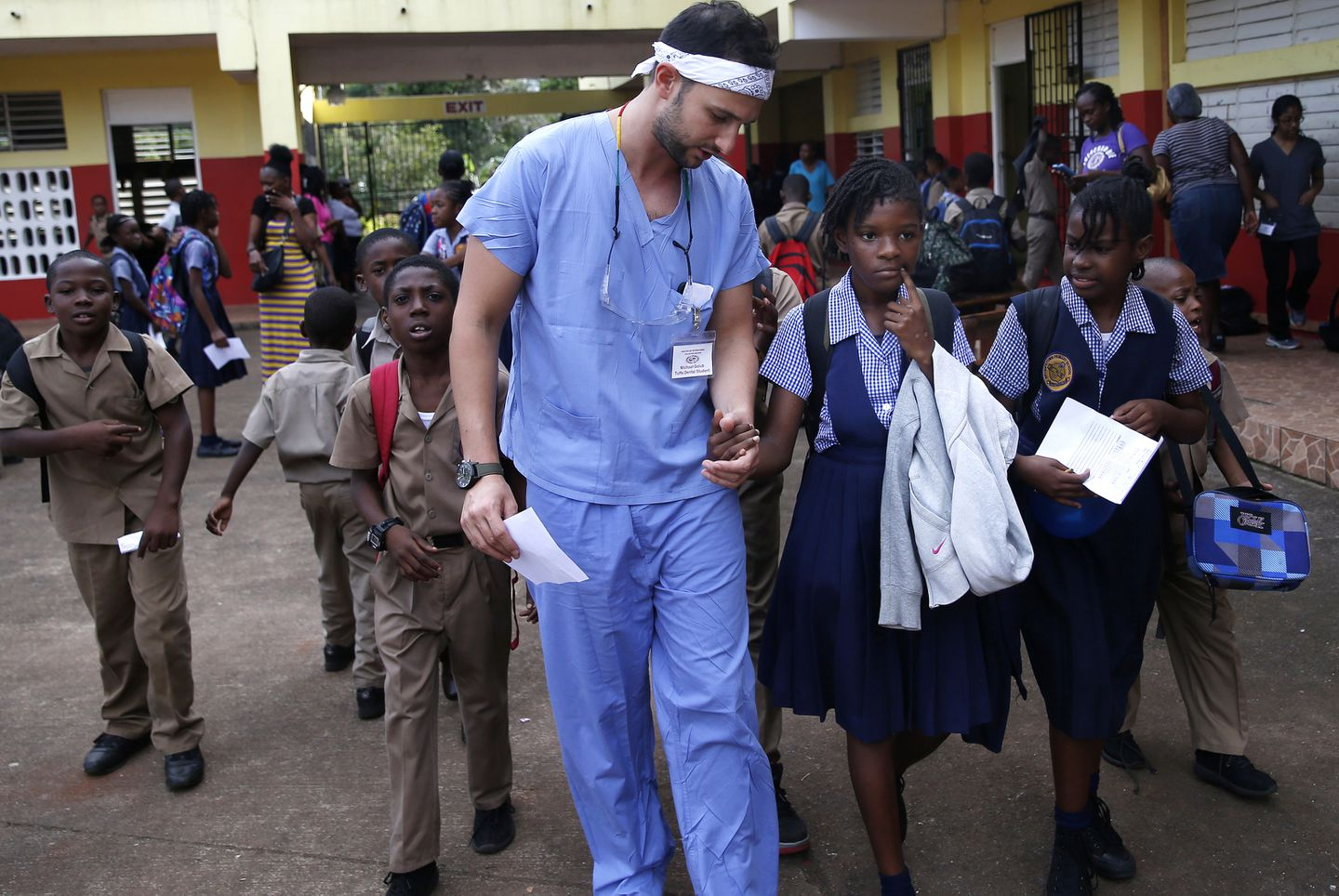 In Jamaica, Tufts dentists provide care for rural