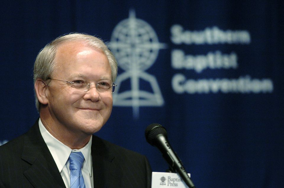 Frank Page, president and chief executive of the Southern Baptist Convention's executive committee, resigned this week because of an ''inappropriate relationship.''