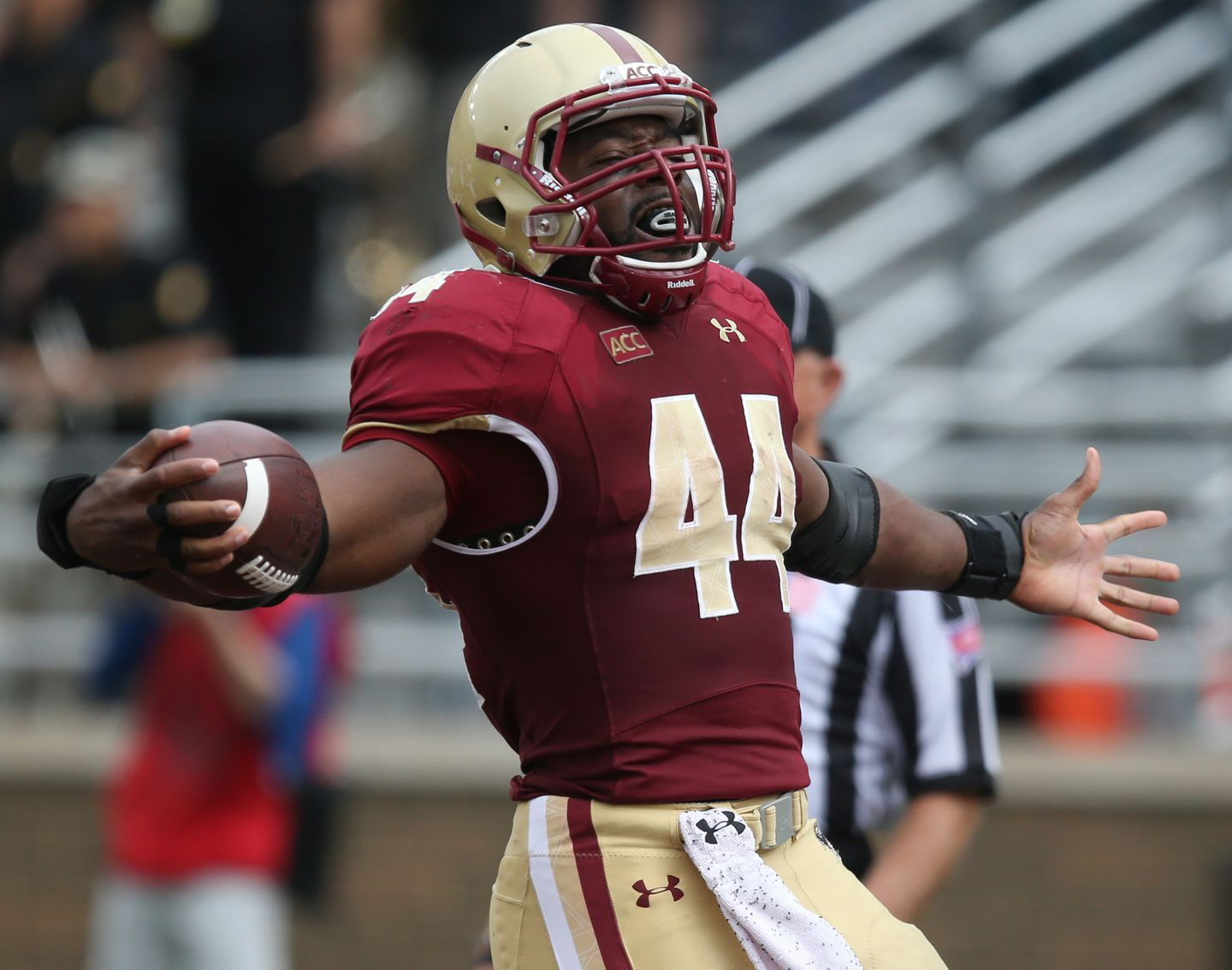 BC coach puts safety over record for Andre Williams - The Boston Globe