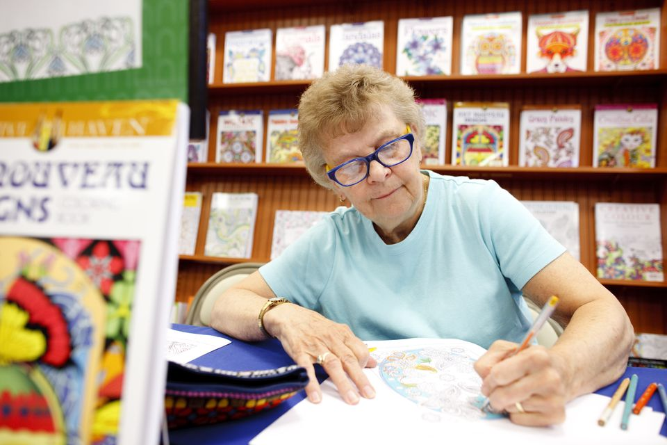 Sister Charlene Favreau, of Lowell, was at work at Barnes and Noble in Burlington.