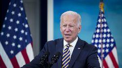 President Biden spoke in the Eisenhower Executive Office Building in Washington, D.C., on Oct. 14, 2021.