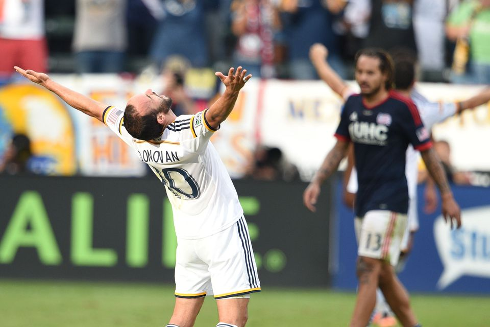 Landon Donovan won the MLS Cup in the final game of his pro career.
