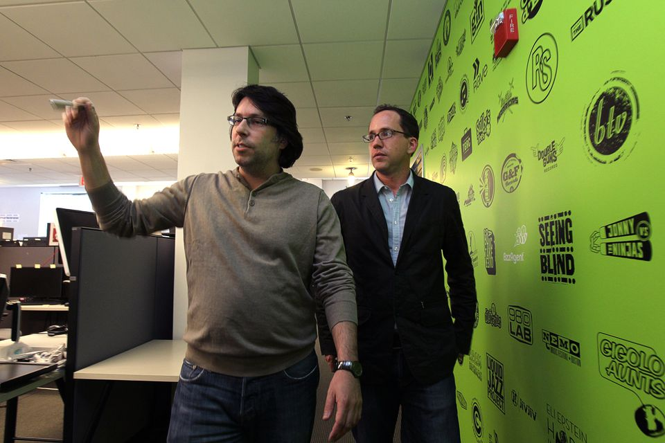 BzzAgent founder Dave Balter (left) has become an angel investor since it was sold.