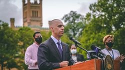 Providence Mayor Jorge Elorza announces the creation of a reparations program.