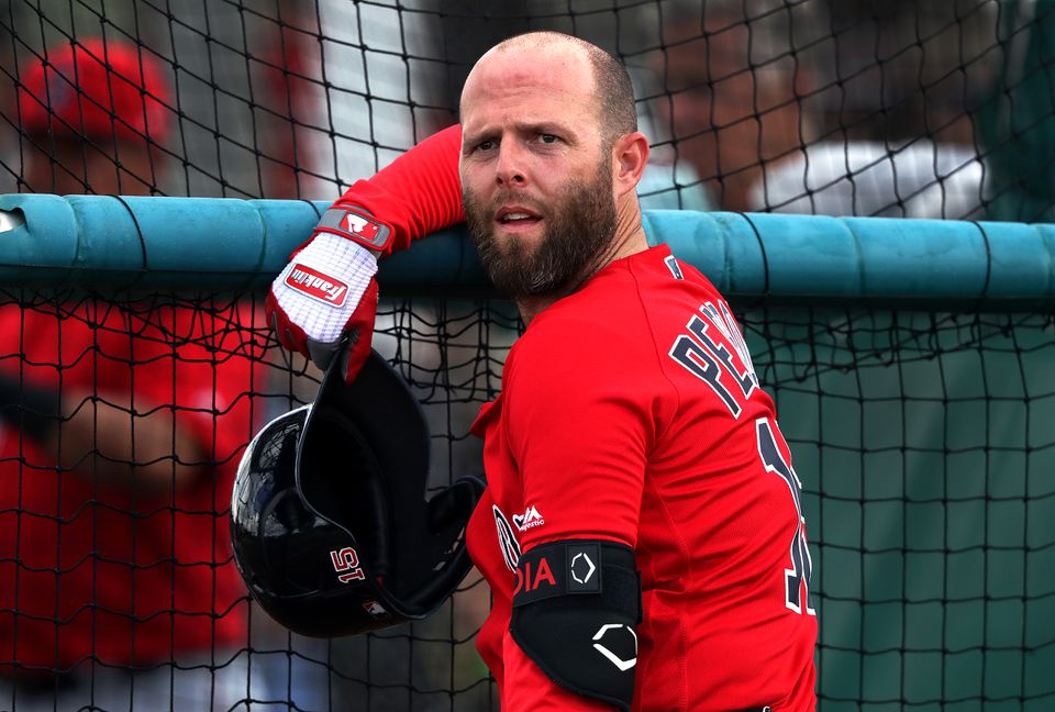 Red Sox second baseman Dustin Pedroia, who is coming back from knee surgery, said he felt fine after the workout.