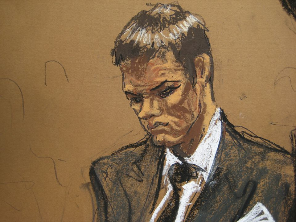 A sketch depicted Tom Brady at the hearing in federal court in New York on Wednesday.