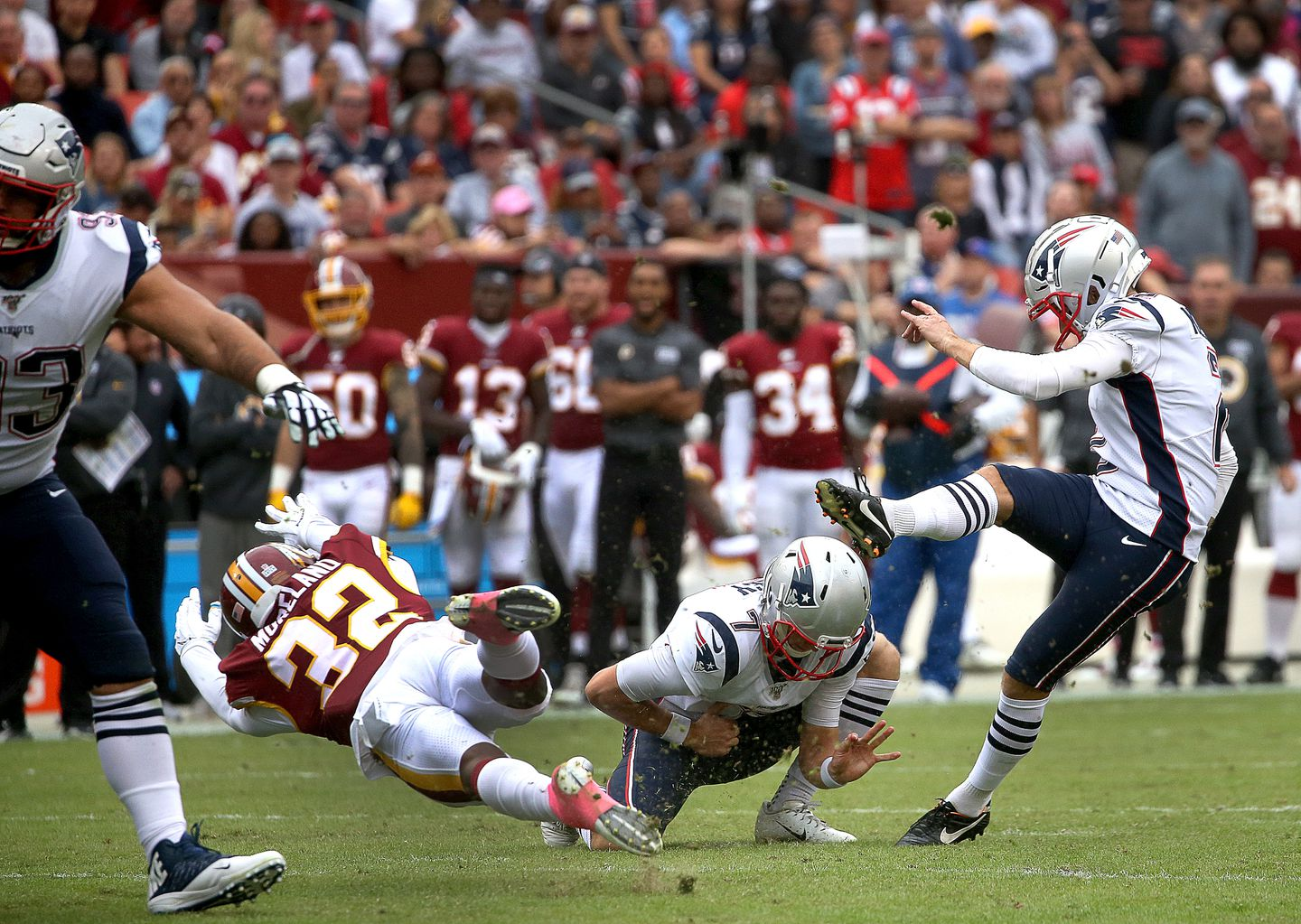 Mike Nugent says he feels comfortable with Patriots' kicking team ...