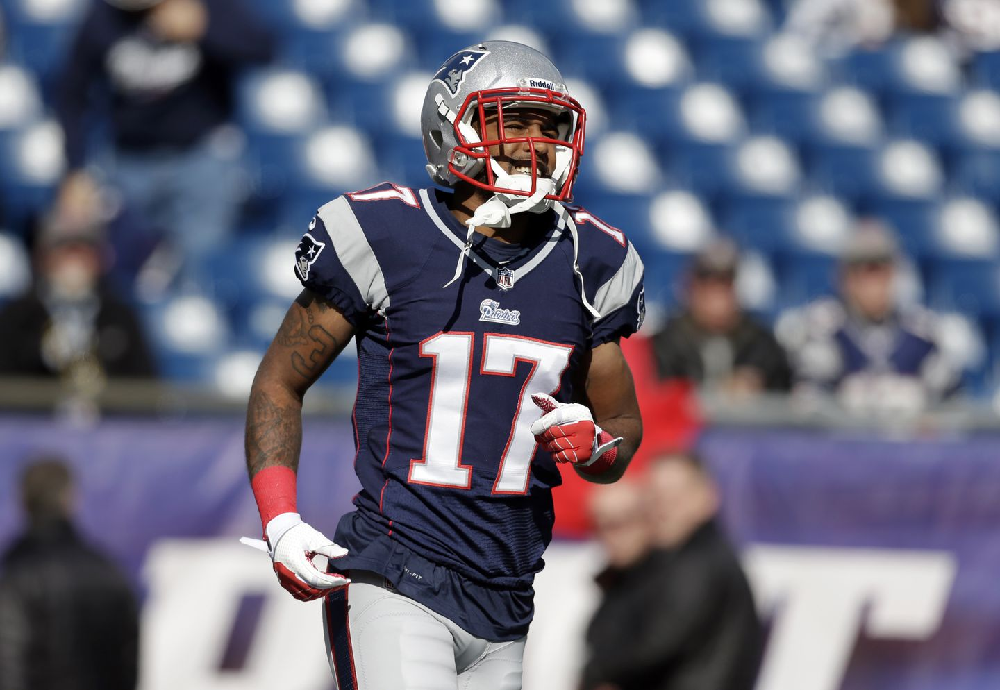 Aaron Dobson questionable for AFC Championship game - The Boston Globe