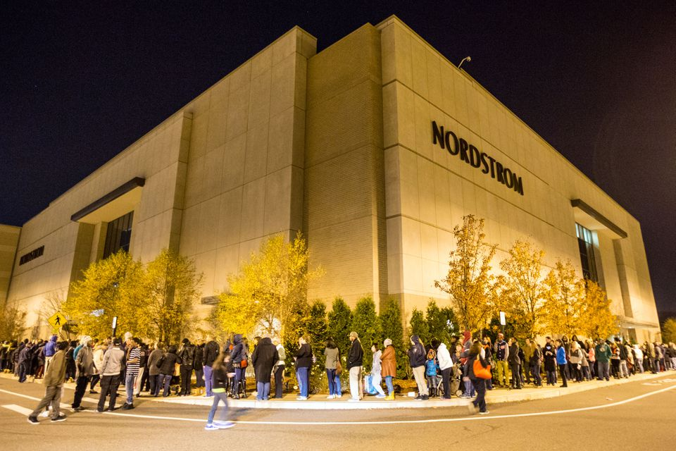 At its peak, Black Friday featured long lines of people eager to have first crack at the so-called doorbuster sales retailers loved to promote.