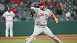 The Reds' Wade Miley threw the fourth no-hitter of the young season.