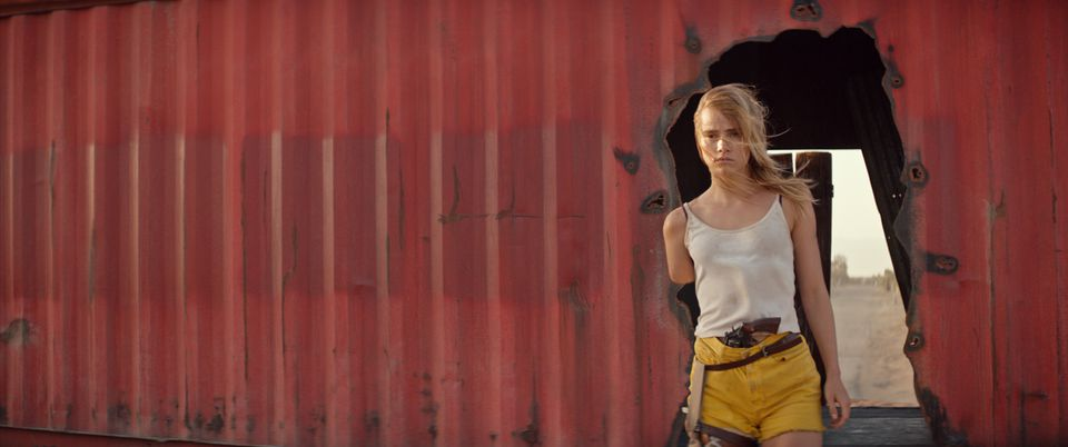 "Suki Waterhouse in ""The Bad Batch."""