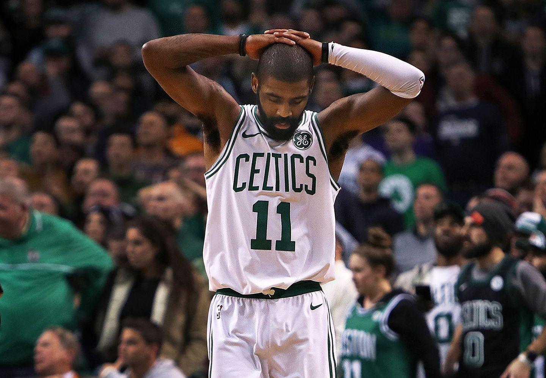 e6e9e9233b12 Celtics  Kyrie Irving sidelined vs. Knicks with quad injury - The ...