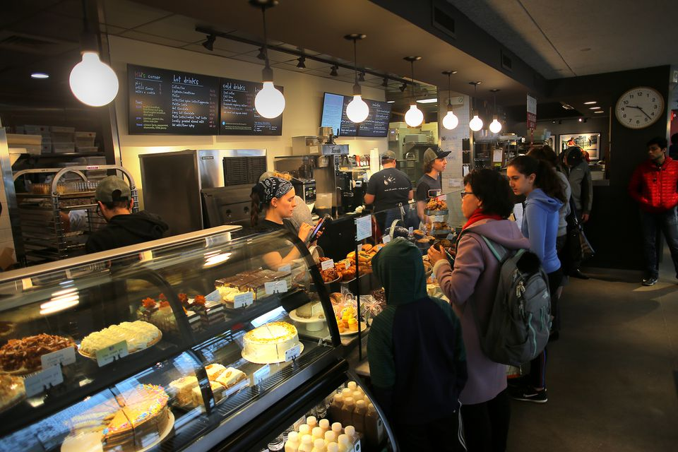 The scene at Flour Bakery in Central Square