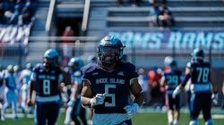 Former Everett High standout Kevin Brown was leading the University of Rhode in rushing through three games, averaging 5.2 yards per carry.