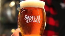 Samuel Adams beer, the flagship brand of Boston Beer Company, is picking up the wedding bar tab for three newlywed couples who work the beer brand into their vows.